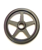 "2"" 5 Spoke Front Wheels"